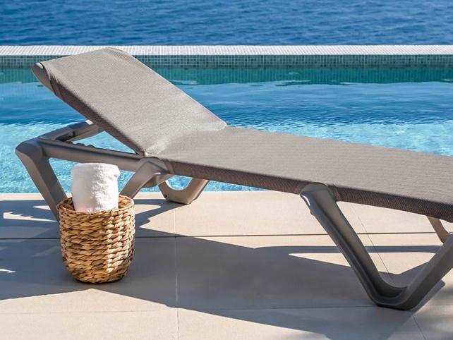 Stranbedden en ligbedden Balliu KUNSTOF strand zwembad sauna hotel